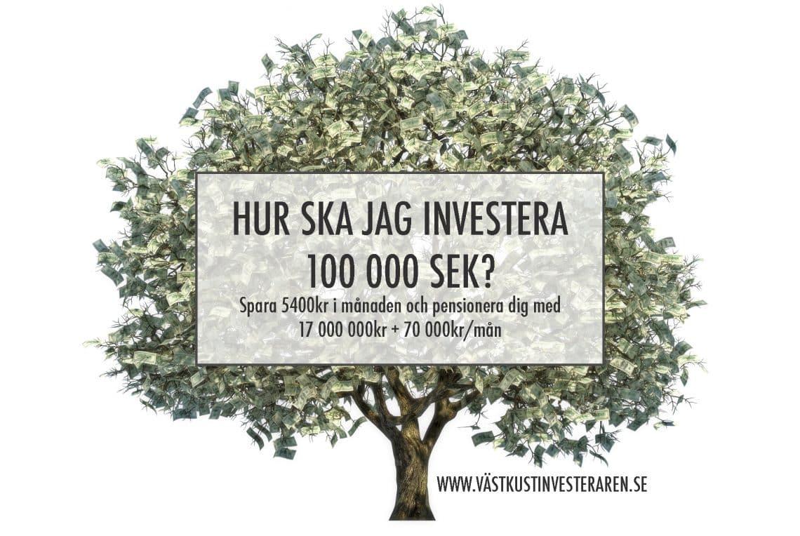 hur ska jag investera 100 000kr
