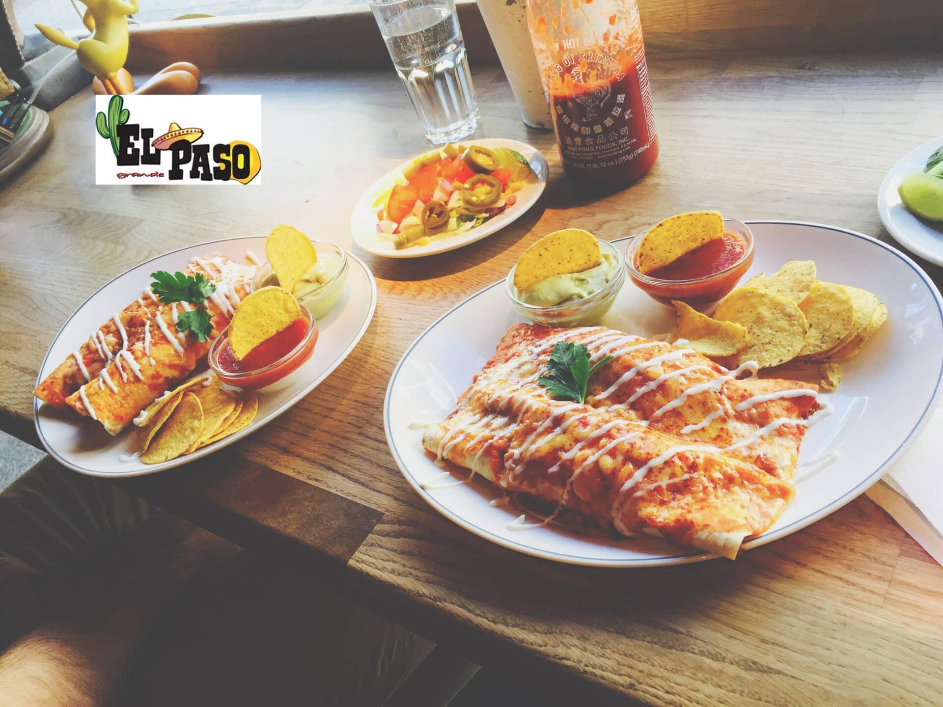 Gårdagens lunch på mexikanska restaurangen El Paso