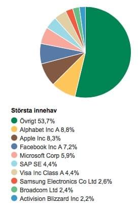 swedbank-robur-technology-innehav