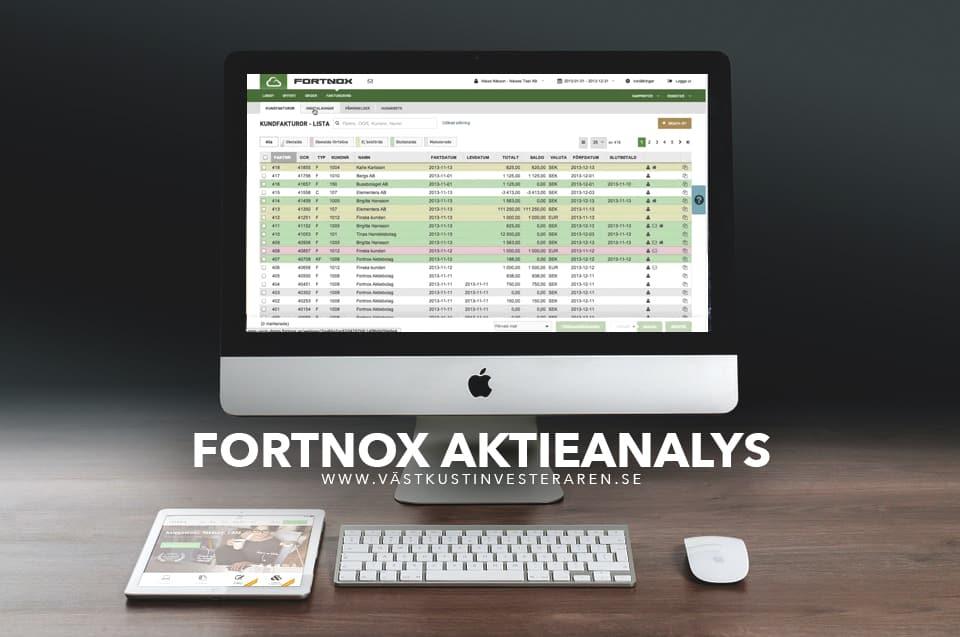 fortnox aktieanalys