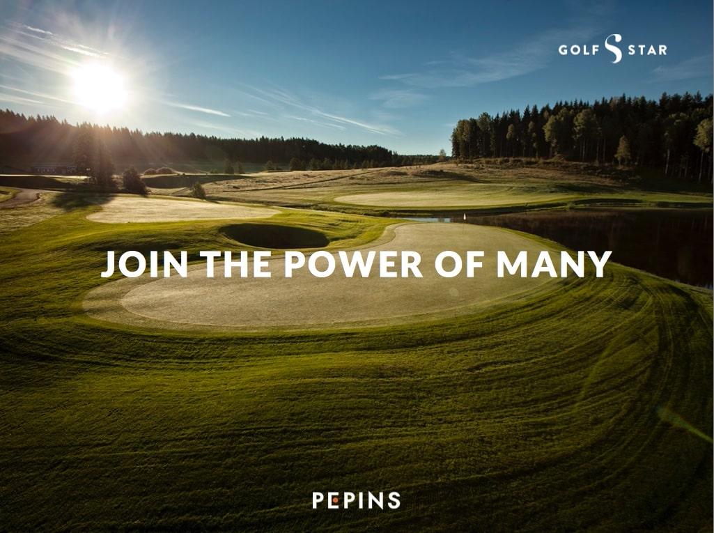 golfstar investera pepins