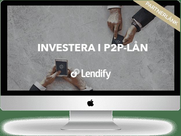 Lendify-investera i P2P-lån