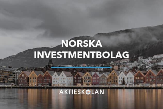 Norska och nordiska investmentbolag