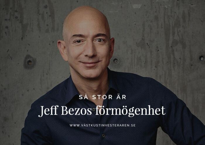 Jeff Bezos förmögenhet
