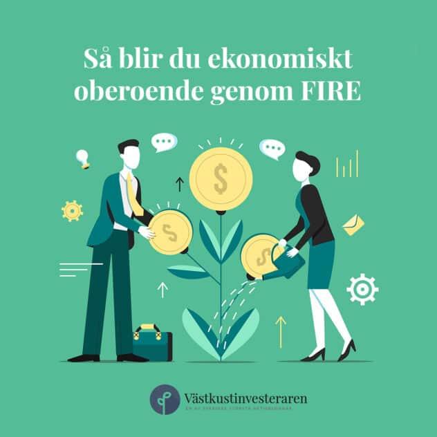 Ekonomiskt oberoende genom FIRE