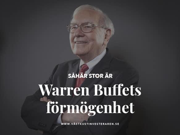 Warren Buffet förmögenhet