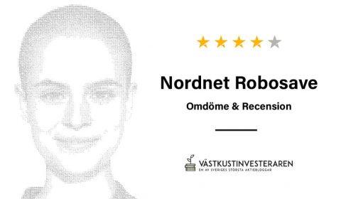 Omdöme & Recension: Nordnet Robosave